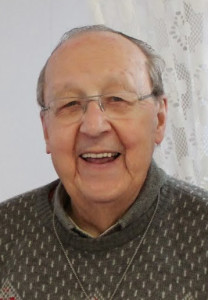 The Most Rev. Bishop André Vallée, Canadian Conference of Catholic Bishops; CCC president 2000-2003. Photo courtesy of Prêtres des Missions Étrangères.