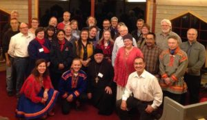 Participants in the Arctic Future conference, Storforsen, Sweden, Oct 5-8, 2015