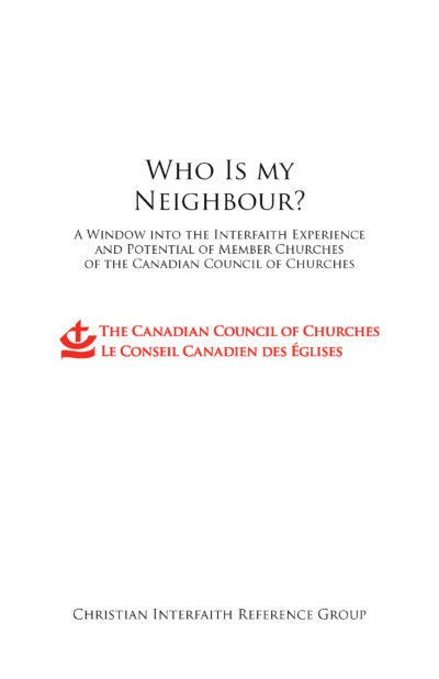 """Book cover of """"Who is My Neighbour?"""""""