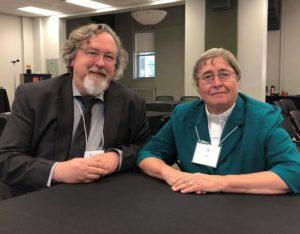 Past President The Rev. Canon Dr. Alyson Barnett-Cowan interviewed the General Secretary, Peter Noteboom