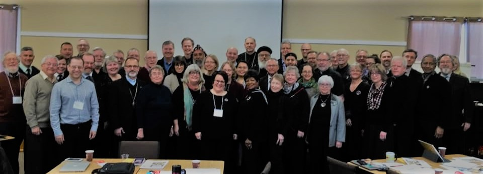 Members of the Governing Board of the Canadian Council of Churches gathered in Crieff, Ontario for their semi-annual meeting.