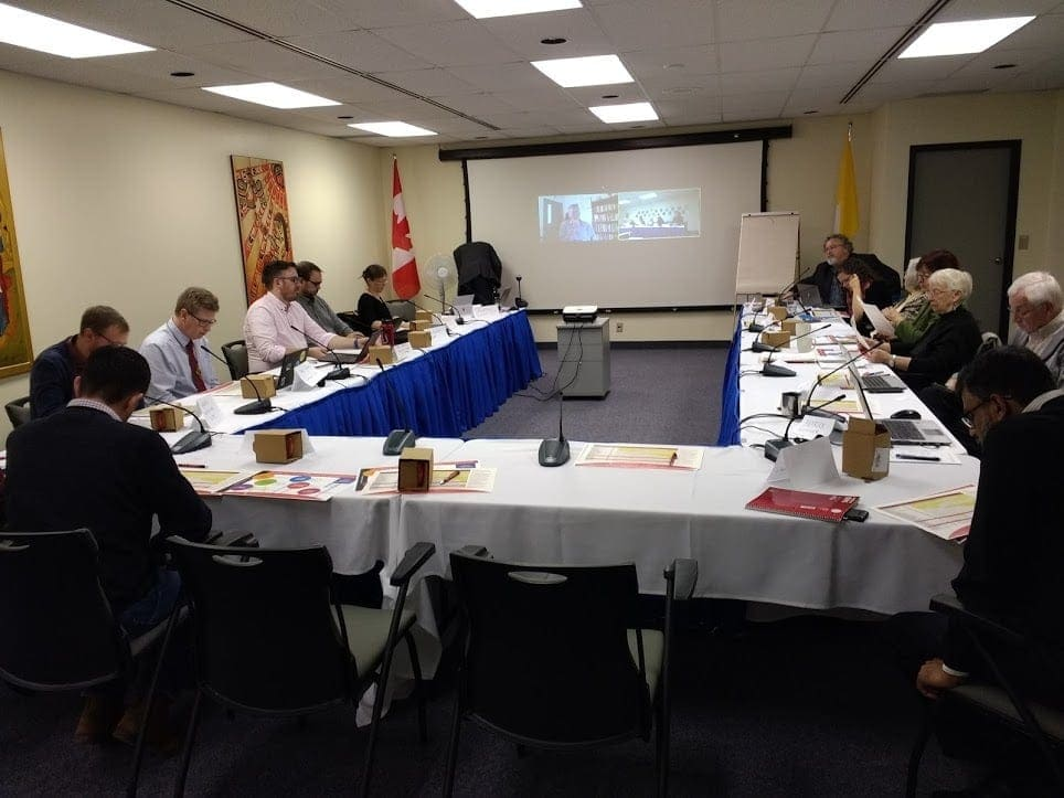 November 2019 - The Commission gathers twice a year in person and several times a year by videoconference.