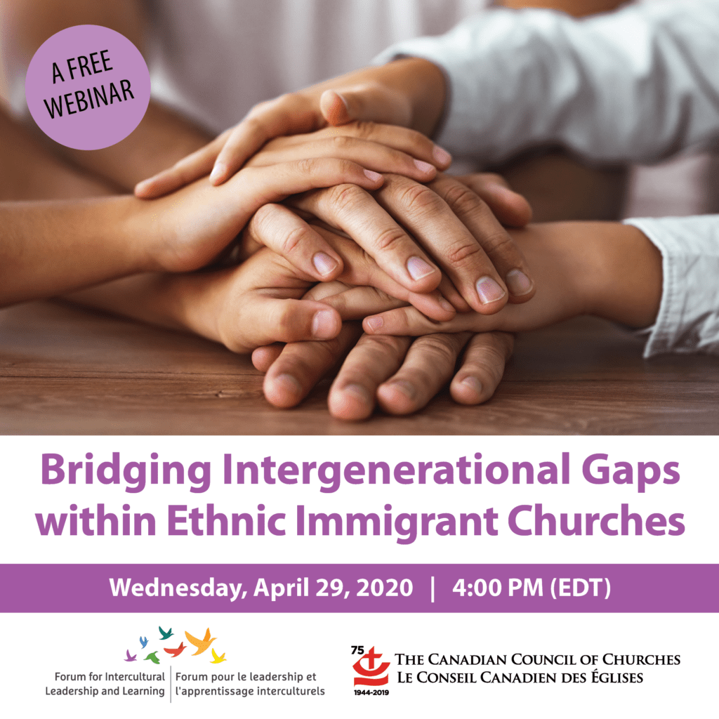 Title image: Bridging Intergenerational Gaps within Ethnic Immigrant Churches