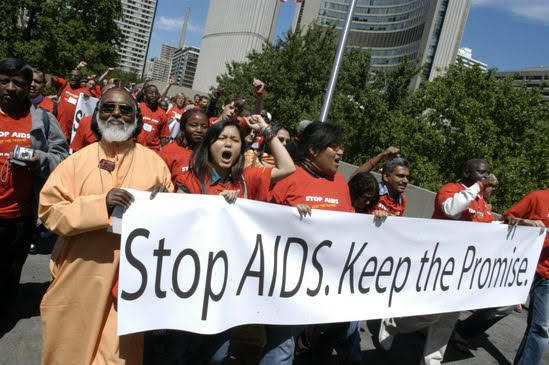 2006 International AIDS Conference in Toronto: Christian Host Committee, The Canadian Council of Churches and the Ecumenical Advocacy Alliance, Geneva.