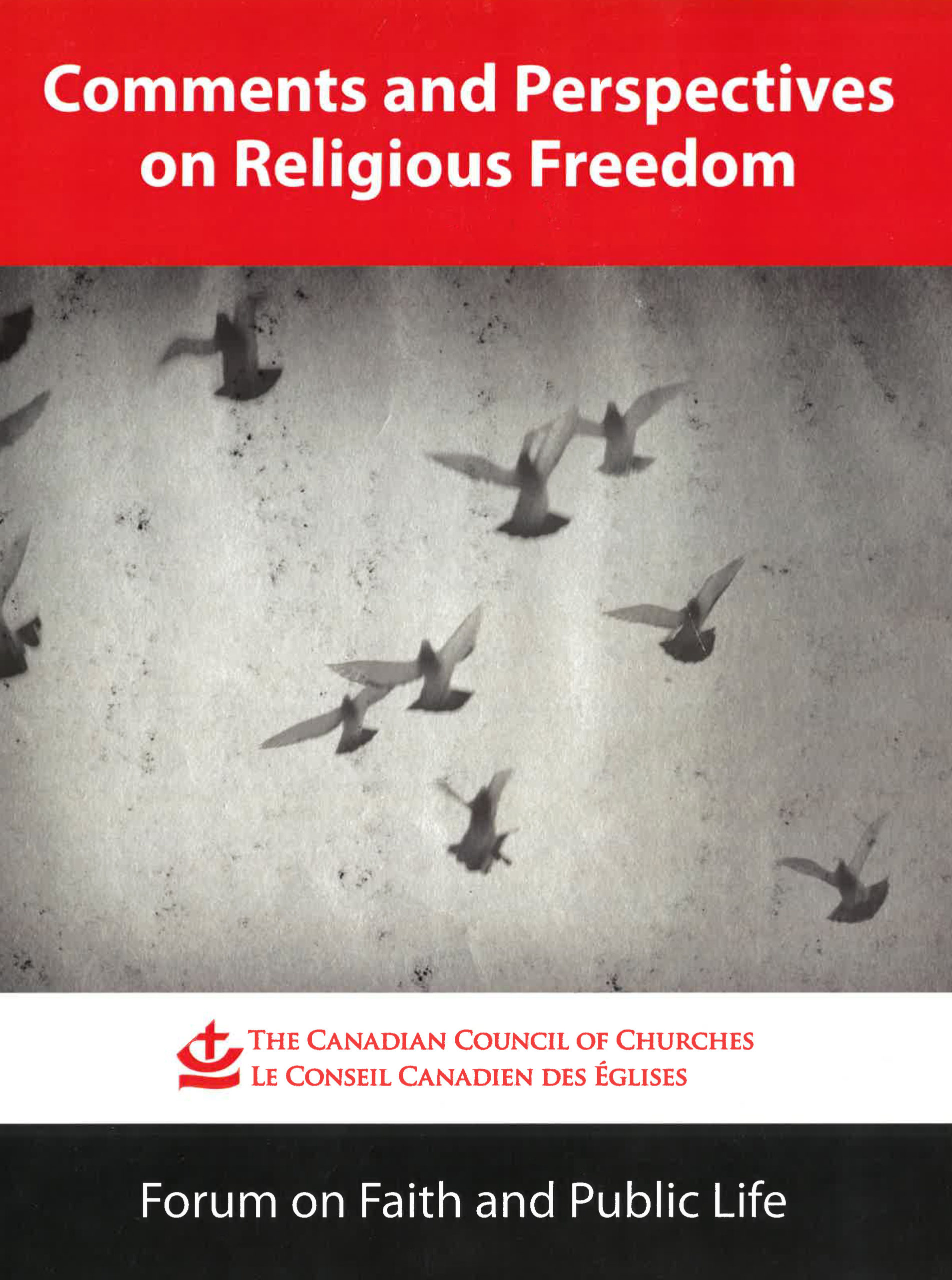 Book Cover: Comments and Perspectives on Religious Freedom