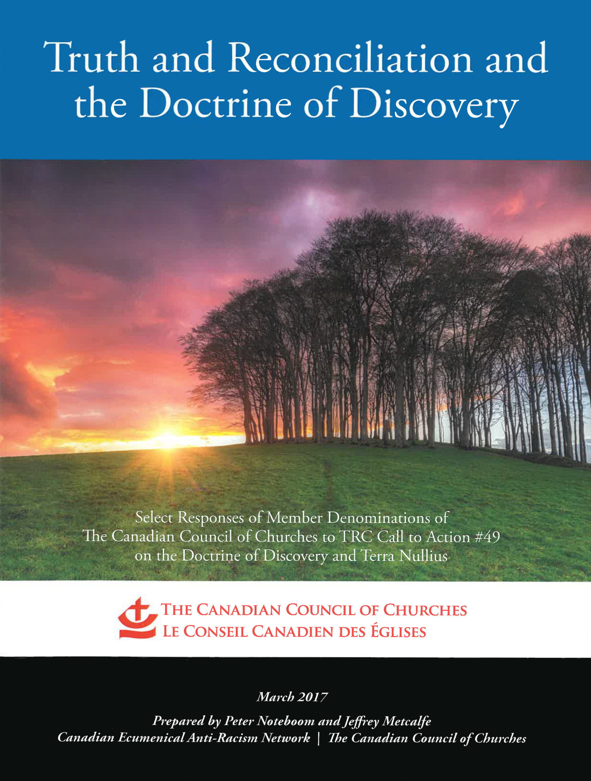 Book Cover: Truth and Reconciliation and the Doctrine of Discovery
