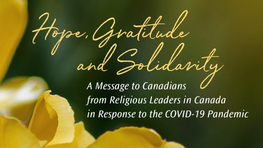 Hope, Gratitude, and Solidarity cover image with flower in background