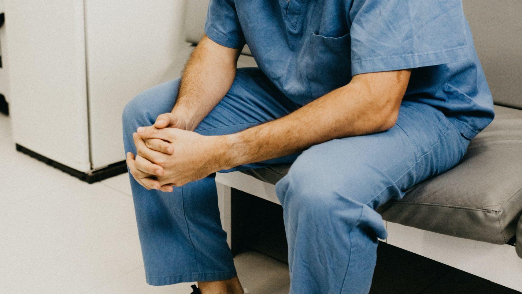 Doctor praying